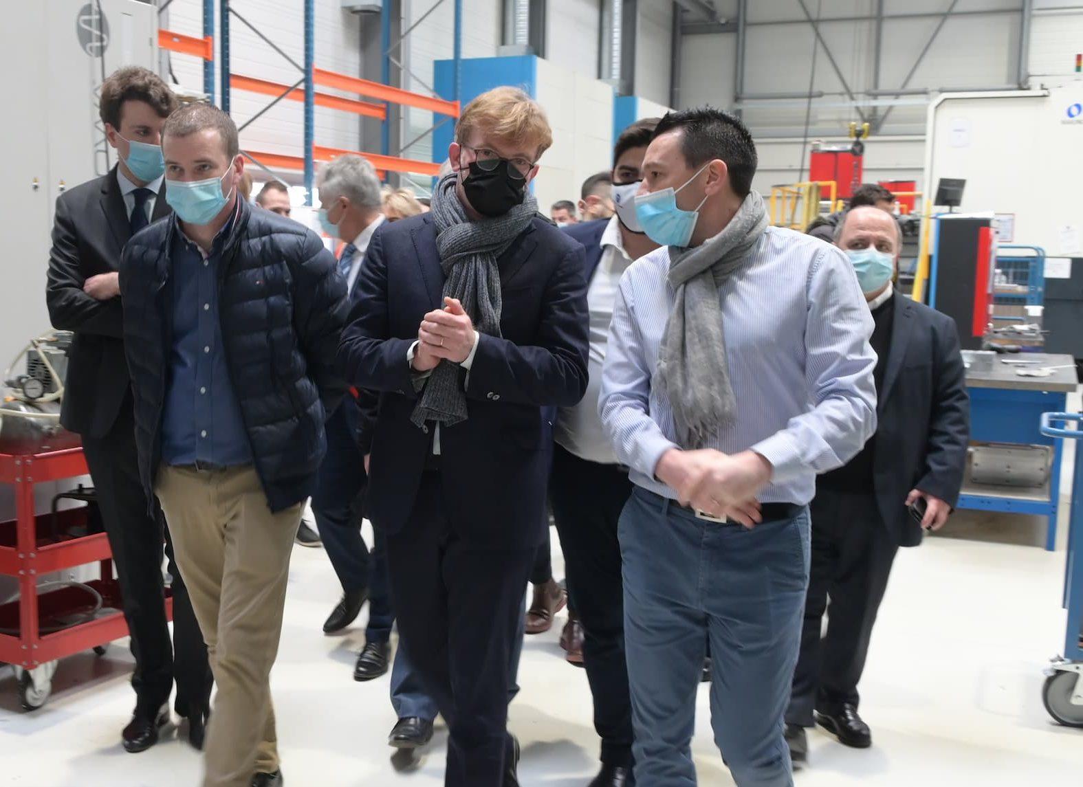visite ministérielle - Marc Fesneau chez Conorm