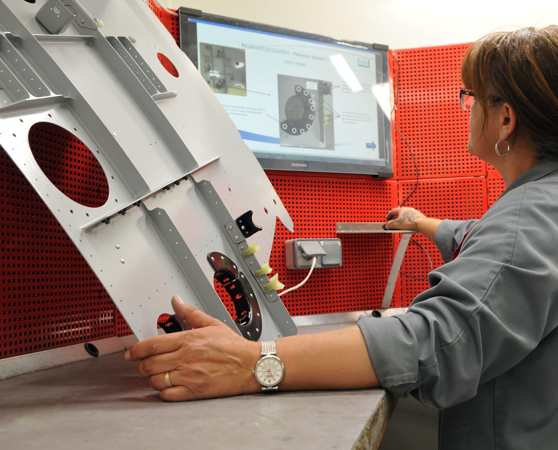 contrôle montage sous-ensemble mécanique aéronautique - Conorm