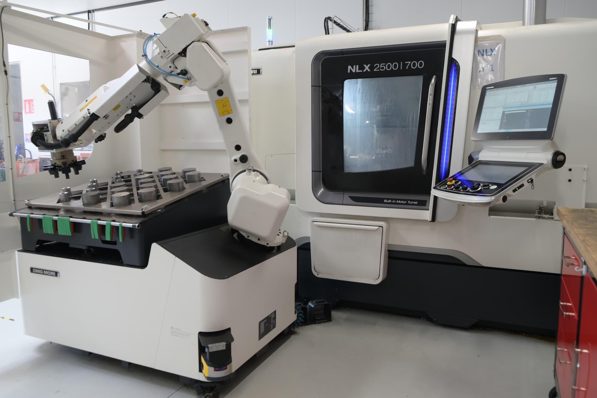 tournage robotisé pièce mécanique de précision - Conorm