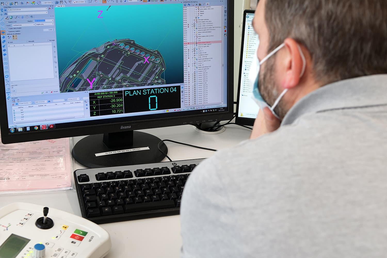 métrologie - contrôle pièce mécanique précision aluminium - Conorm