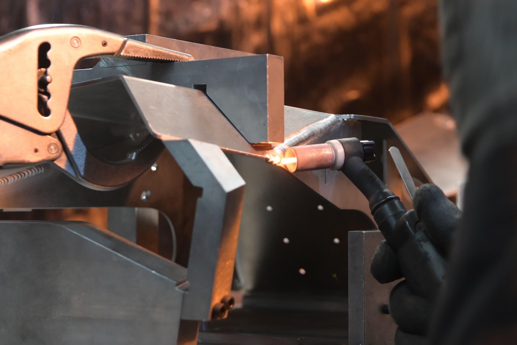 soudure pièces aluminium - Conorm